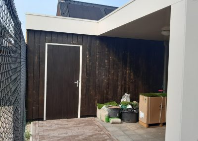 veranda modern uden opbergschuurtje