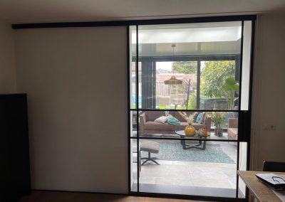 Glazen schuif-binnendeur 26
